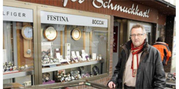 Juwelier in Vorchdorf ausgeraubt