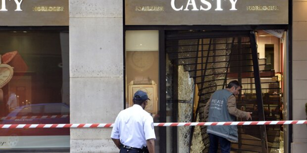 Zwei Millionen Euro Beute bei Juwelenraub