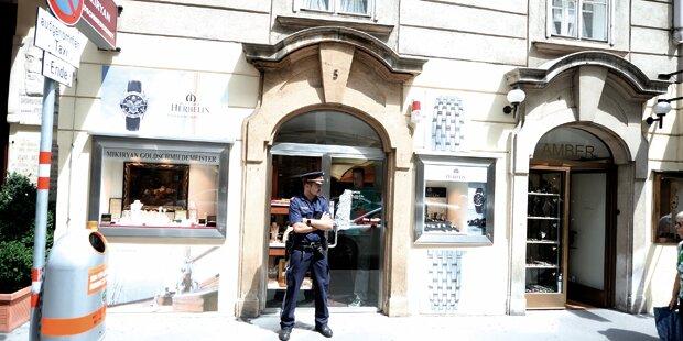 Juwelier in Wiener City überfallen