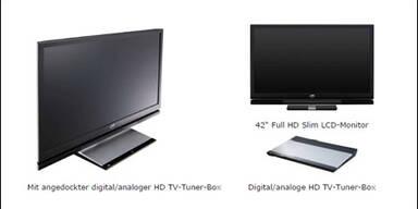Erster LCD mit HDTV-Tuner!