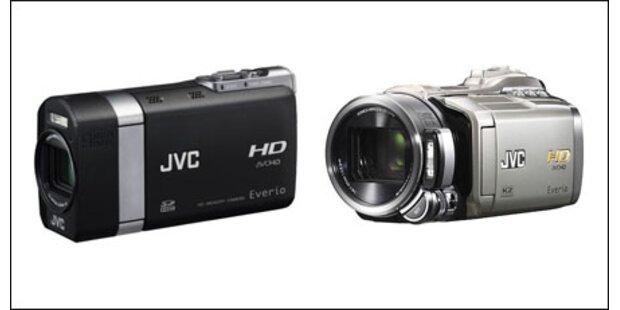 Zwei neue Full-HD-Camcorder kommen