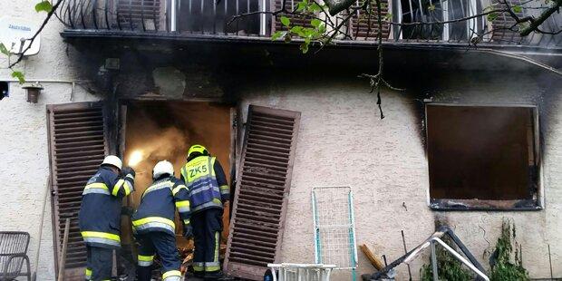 Frau starb bei Brand: Schwierige Ermittlungen