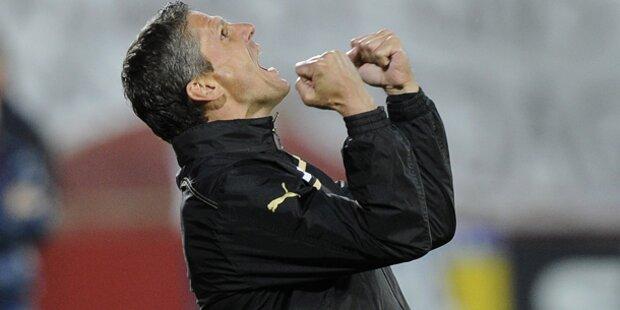 Admira zittert sich in Europa League