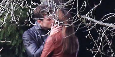 """Set von """"Fifty Shades of Grey"""" Jamie Dornan und Dakota Johnson"""