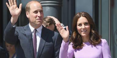 """Prinz William: """"Ein bisschen angespannt"""""""
