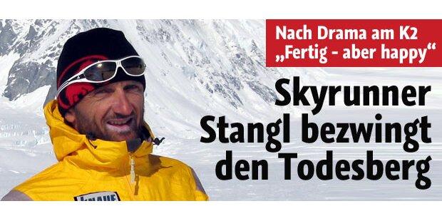 Skyrunner Stangl bezwingt K2