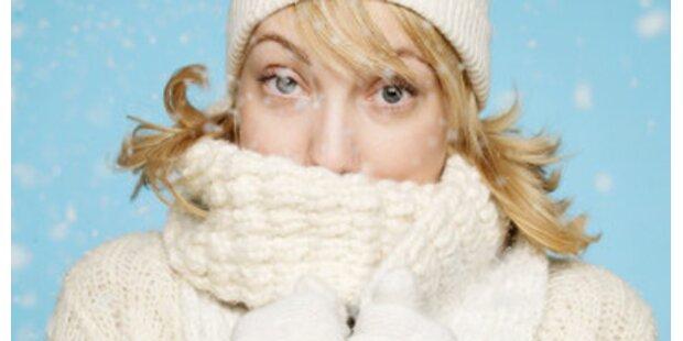 So schützen Sie sich vor der Kälte