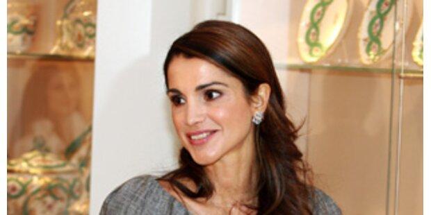 Österreich-Fan Rania eroberte Wien mit Charme