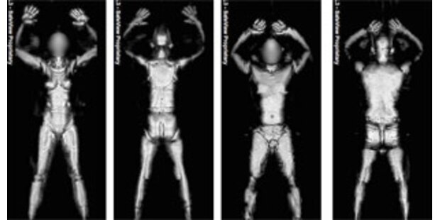 Doch keine Nackt-Scanner-Tests an Passagieren