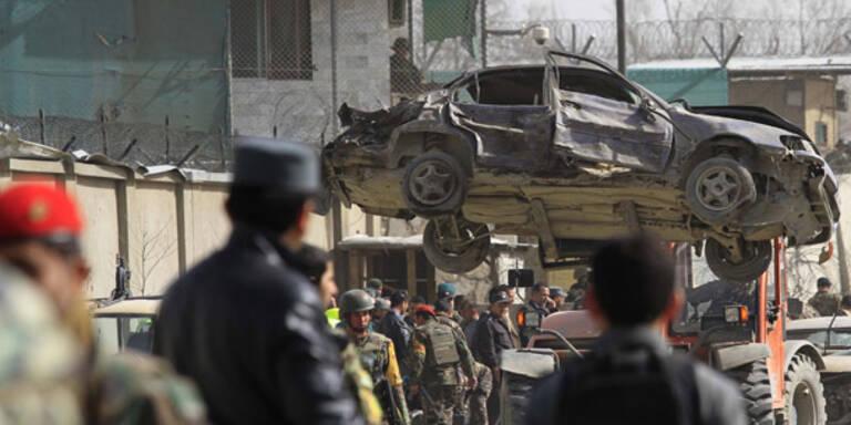 Tote bei Selbstmordanschlag von US-Visite