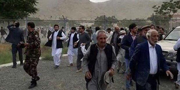 Explosionen bei Trauerfeier in Kabul: Viele Tote