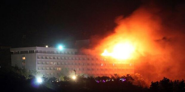 Angriff auf Hotel in Kabul: Mehrere Tote