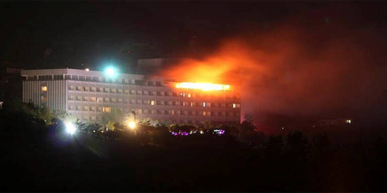 Taliban-Angriff auf Luxushotel in Kabul