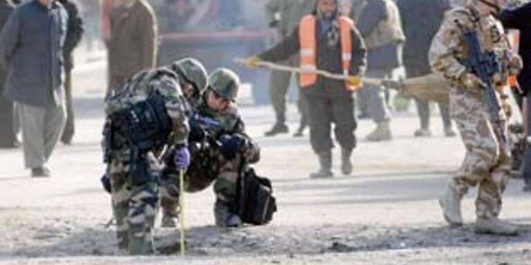 Wieder 14 Tote bei Selbstmordanschlag in Kabul