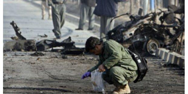 Selbstmord-Attentat auf Konvoi in Kabul