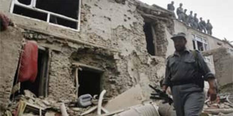 Polizeiaktion gegen Terroristen in Kabul
