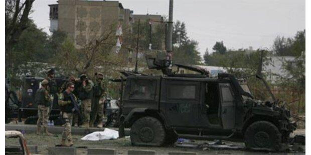 Anschlag auf ital. Soldaten in Kabul