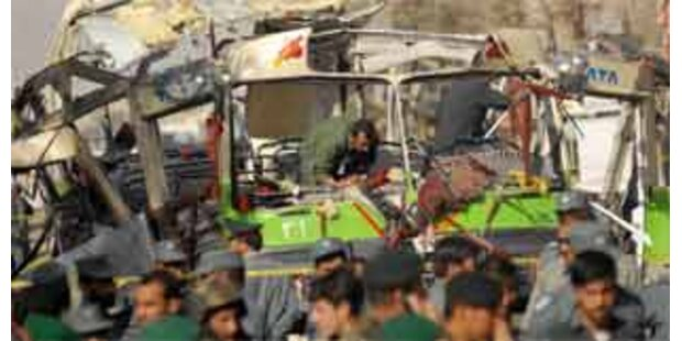 Kinder bei Anschlag auf Polizei in Kabul getötet