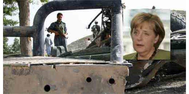 Merkels Leibwächter starb im Bombenhagel