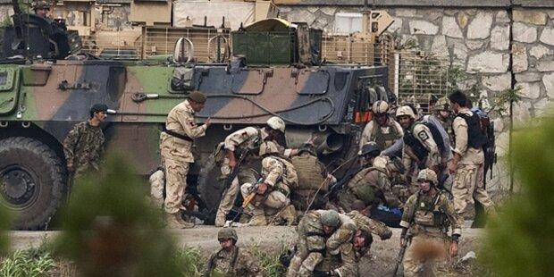 Kabul: Angriff der Taliban abgewehrt