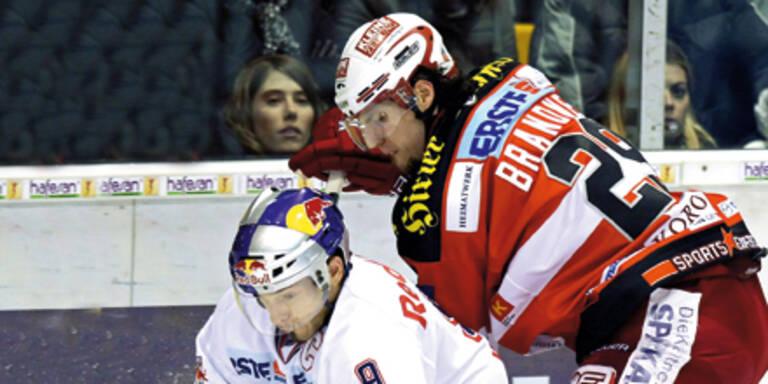 KAC feiert hauchdünnen Sieg gegen Salzburg