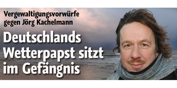 Vergewaltigung: Kachelmann in U-Haft