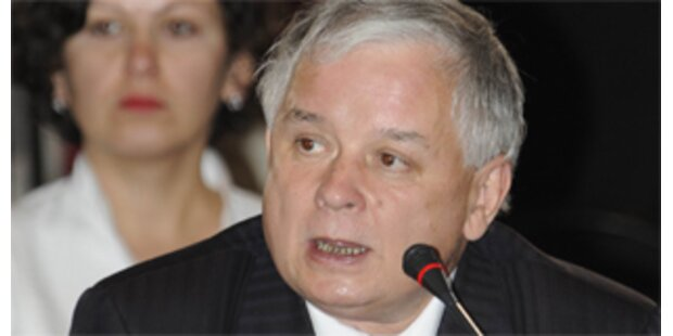 Polen-Präsident Kaczynski ein