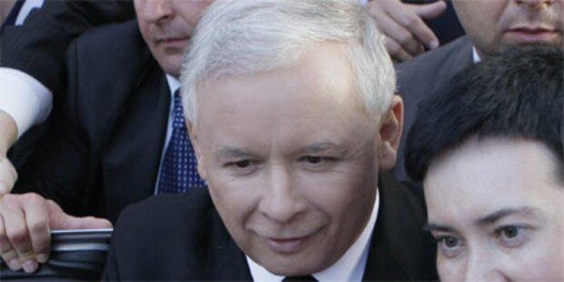 Profitiert Kaczynski vom Tod des Bruders?
