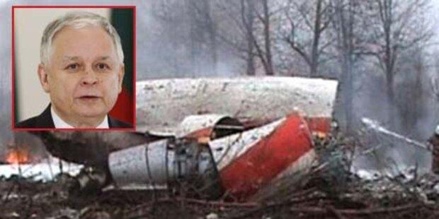 Kaczynski-Absturz: Russland gibt Polen Schuld