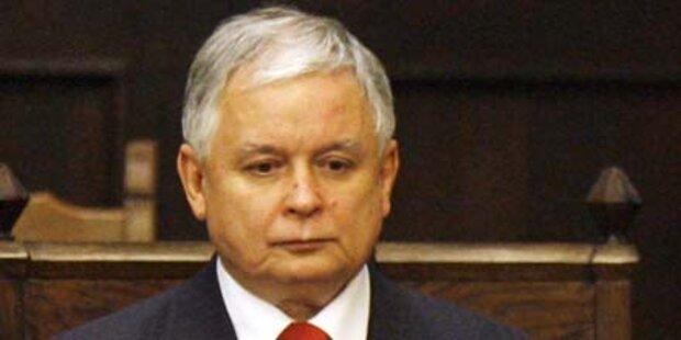 Präsident tot: Polen im Schockzustand