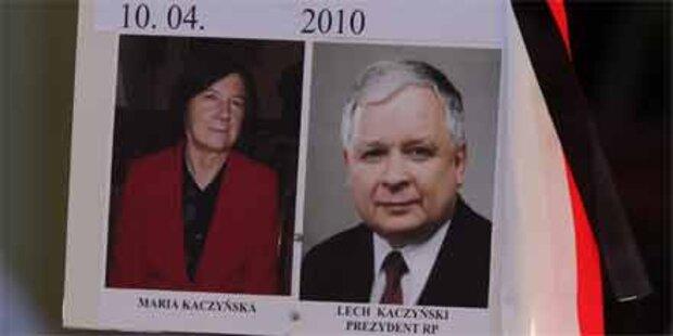 Kaczynskis Mama erfuhr erst jetzt vom Tod