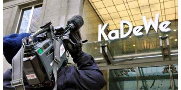KaDeWe-Einbrecher wegen DNA entlassen