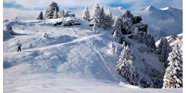 Schweizer bibbern bei minus 32,3 Grad