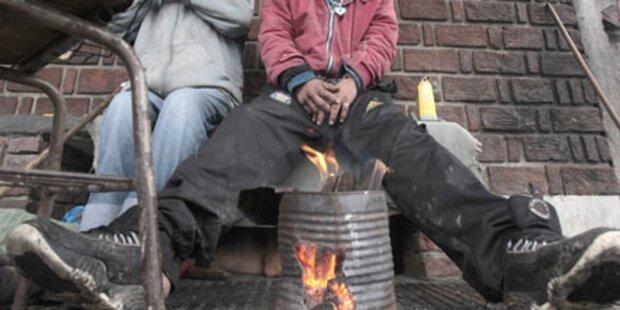 Kältewelle: 175 Tote in Südamerika