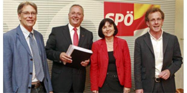 Kärntner-SPÖ-Nachfolger Rohr präsentierte Team