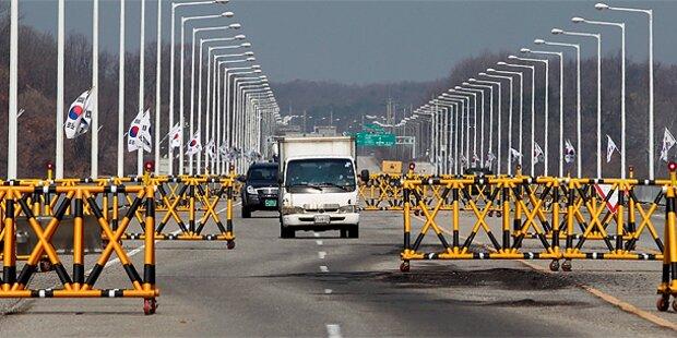 Südkorea zieht Arbeiter aus Industriezone ab