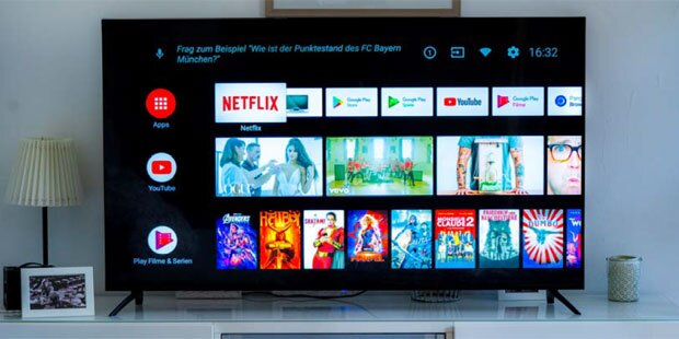 Neuer 4K-TV für legales Fernsehen ohne GIS