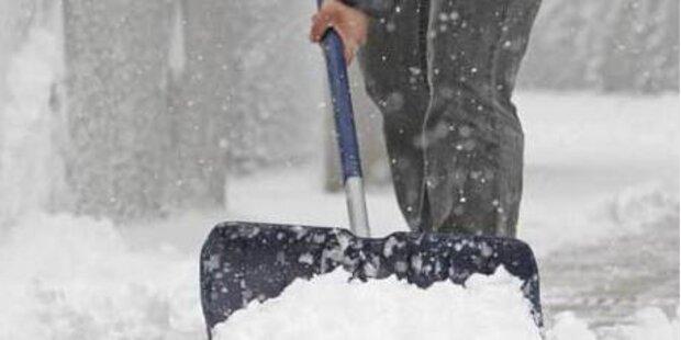 Kalorienverbrauch im Schnee