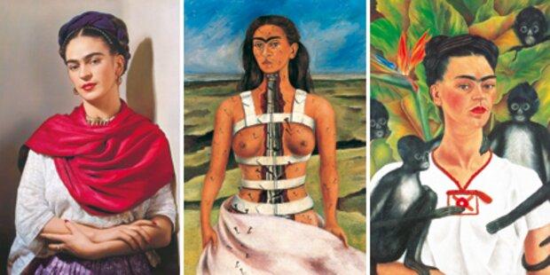 Ansturm auf die Frida-Kahlo-Schau