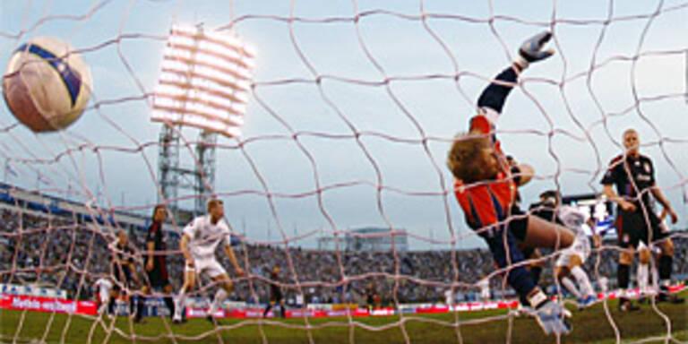 Bayern gehen in St. Petersburg 0:4 unter