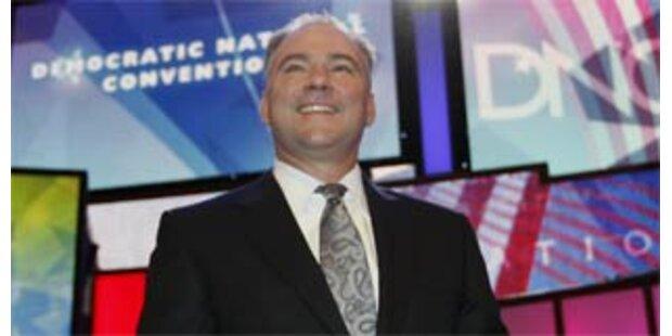 Tim Kaine neuer Vorsitzender der Demokraten?