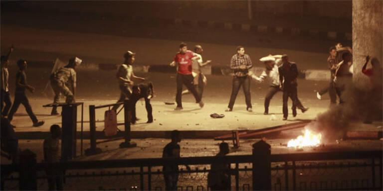 24 Tote bei Unruhen in Kairo