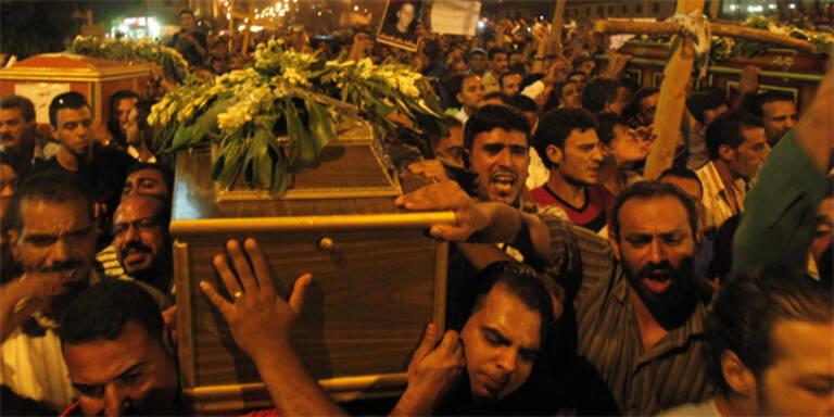 Tausende bei Trauerfeier in Kairo
