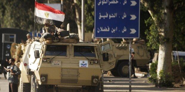 Acht Tote bei Unruhen in Ägypten