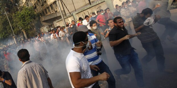 Dutzende Tote bei Unruhen in Ägypten