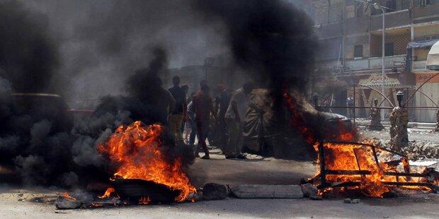 Ägypten: 10 Tote bei Demo in Kairo
