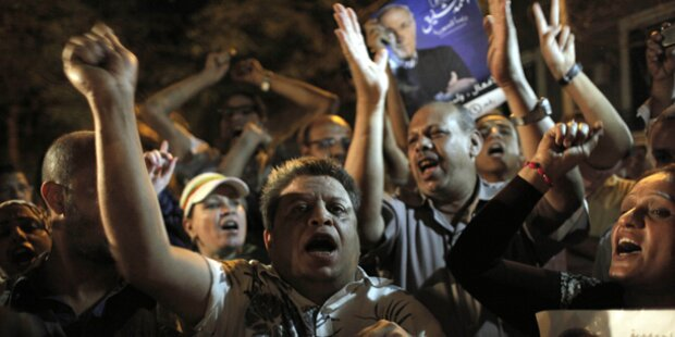 Proteste gegen Wahlausgang in Ägypten
