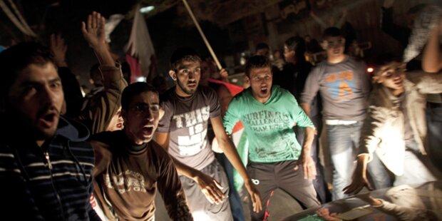 Krawalle in Kairo dauern an