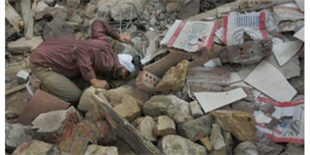Felssturz in Kairo könnte Hunderte getötet haben