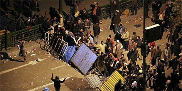 Wieder Straßenschlachten in Kairo
